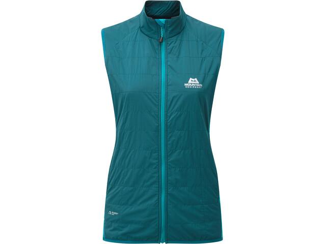 Mountain Equipment Switch Veste Femme, legion/pool blue